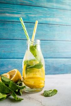 Limonade nature morte pour l'été