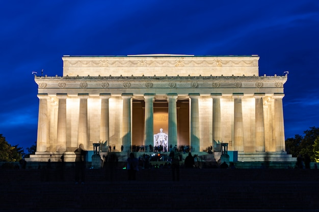 Lincoln memorial washington dc états-unis