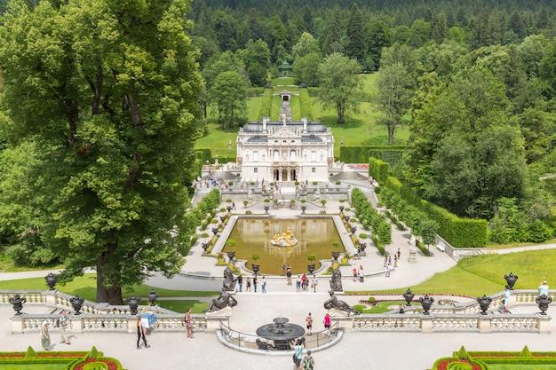 Linderhof palace allemagne
