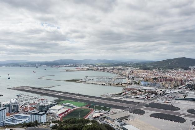 La linea gibraltar algeciras espagne andalousie