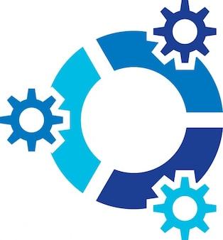 Linux options du système d'exploitation logo kubuntu