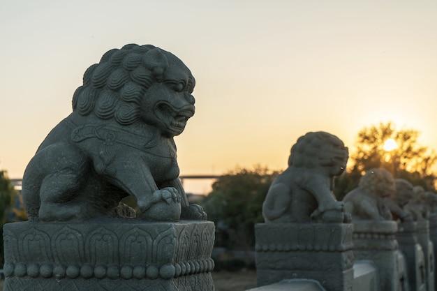 Lions de la cité interdite