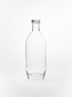 Liqueur de bouteille de distillerie de vodka de verre