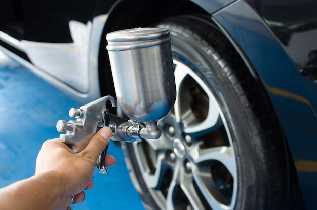 Liquide de pneu de pulvérisation