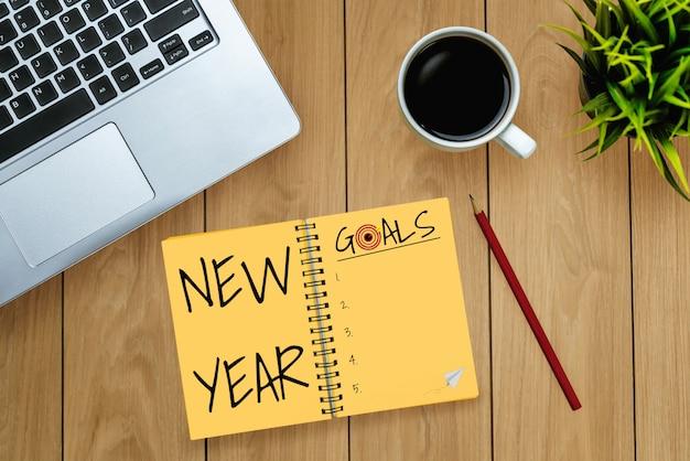 Liste des objectifs de résolution du nouvel an