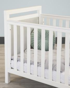 Lit d'enfant lit bébé velours chambre d'enfant