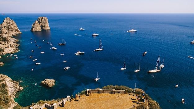 Le littoral de l'italie est de l'air