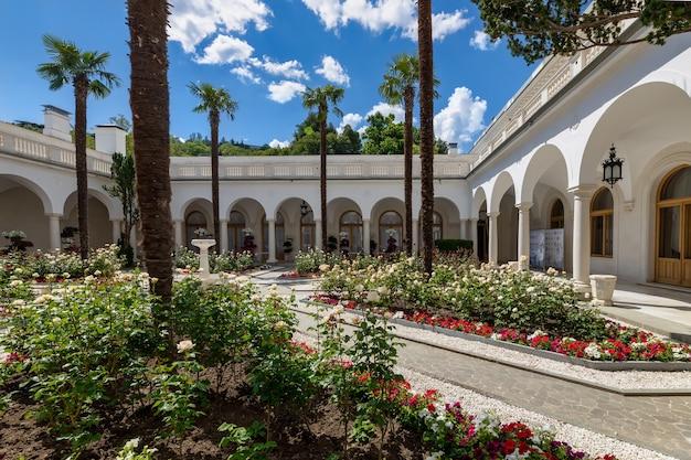 Livadia crimée livadia palace patio