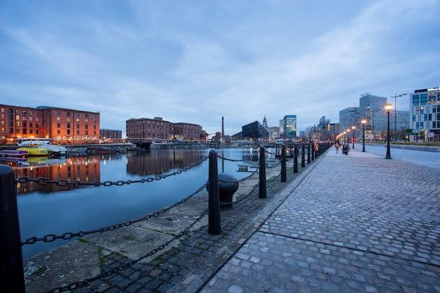 Liverpool, albert dock, angleterre, royaume-uni