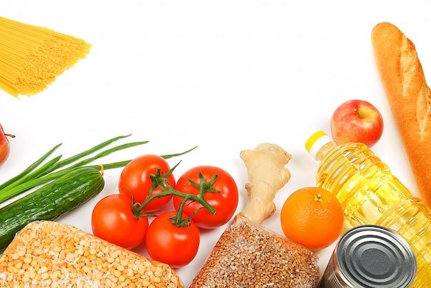 Livraison, don, approvisionnement alimentaire