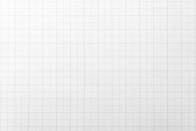 Livre blanc avec motif de ligne de grille pour le fond. fermer.