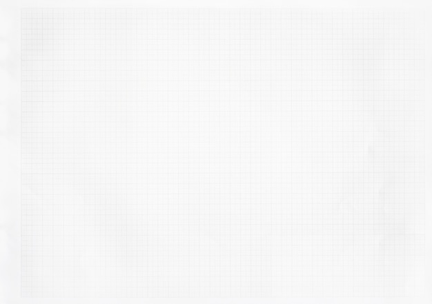 Livre blanc avec motif de ligne de grille.