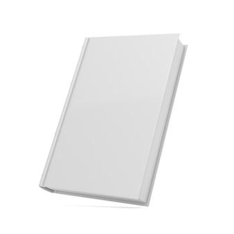 Livre sur fond blanc. illustration 3d isolée