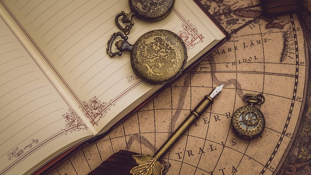 Livre de journal de stylo