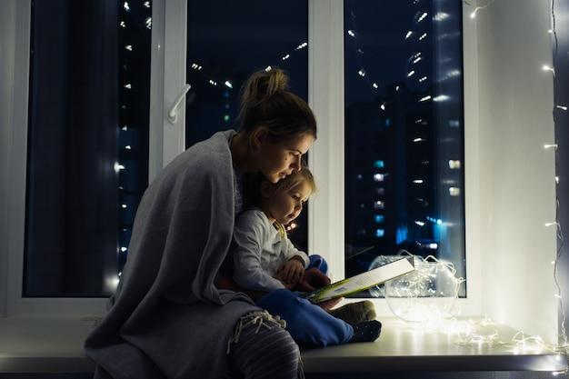 Livre de lecture mère et fille