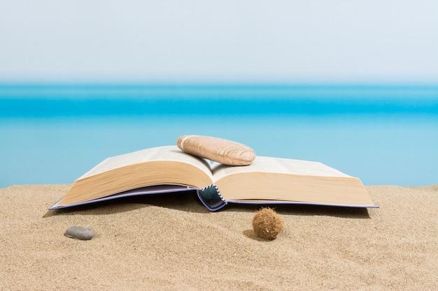 Livre sur la plage