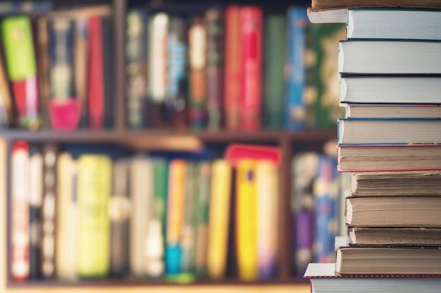 Livres sur la bibliothèque