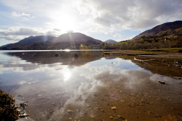 Loch shiel lake