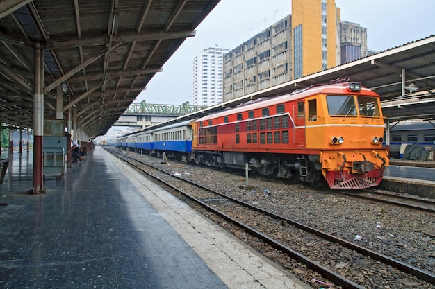 Locomotive diesel