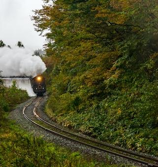 Locomotive à vapeur fukushima japon