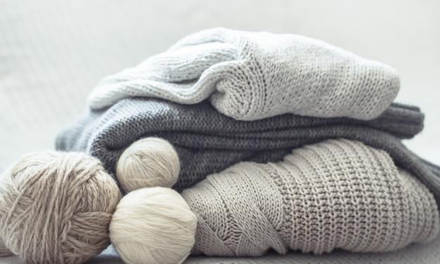 Loisirs à la maison, tricot