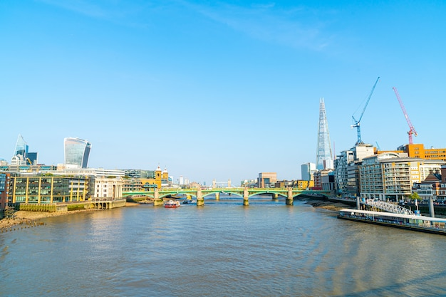 London city avec la tamise