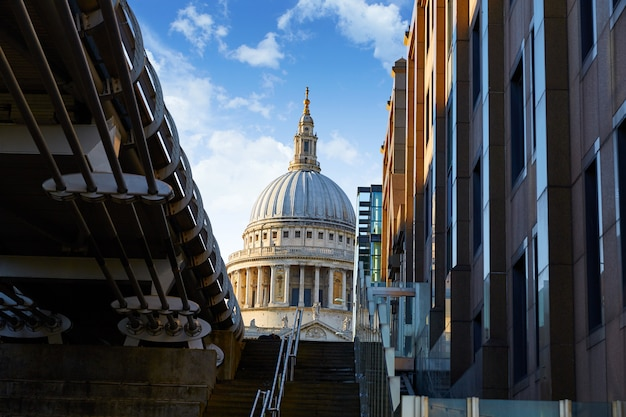 London st paul pauls cathédrale du millénaire
