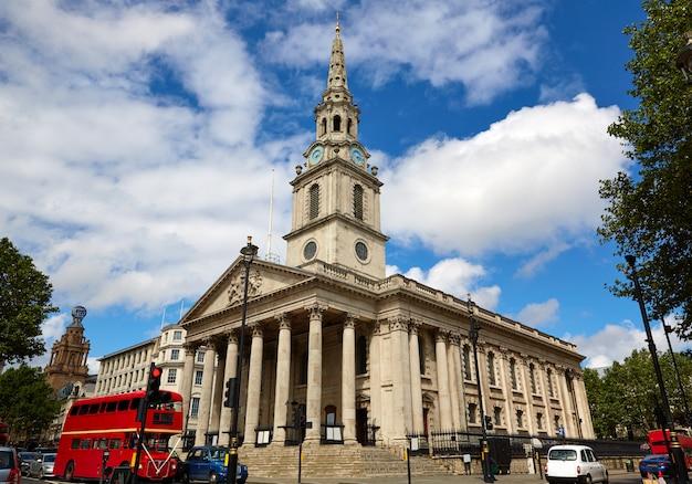 London trafalgar square eglise st martin