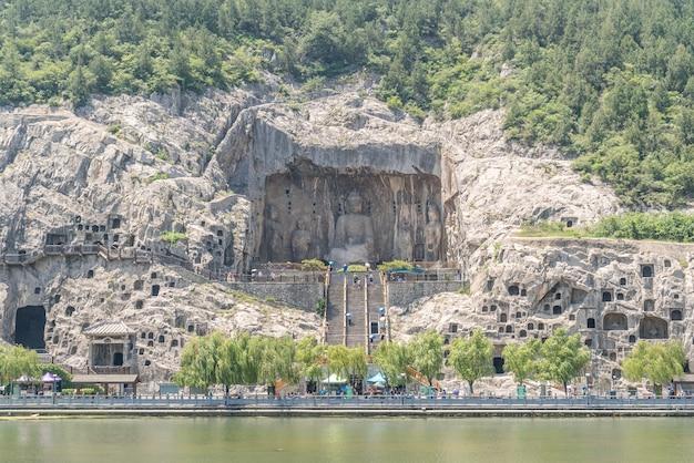 Longmen grottoes luayang chine