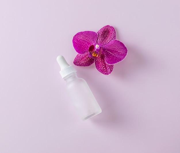 Lotion de soin de la peau bio naturelle avec composition de frais généraux