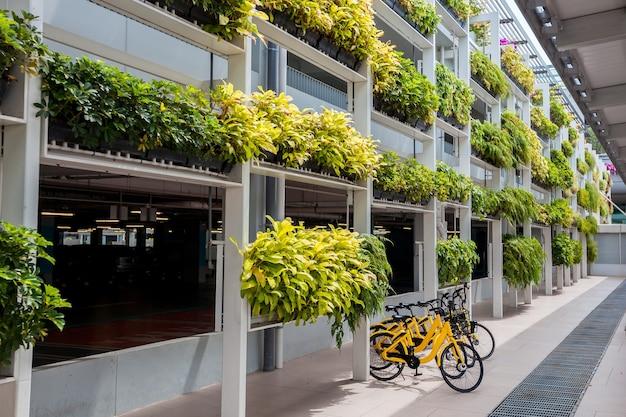 Louez un vélo avec des vélos jaunes à singapour
