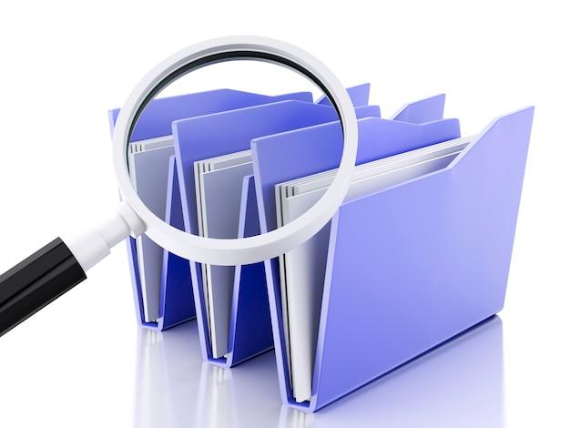 Loupe 3d et fichiers informatiques