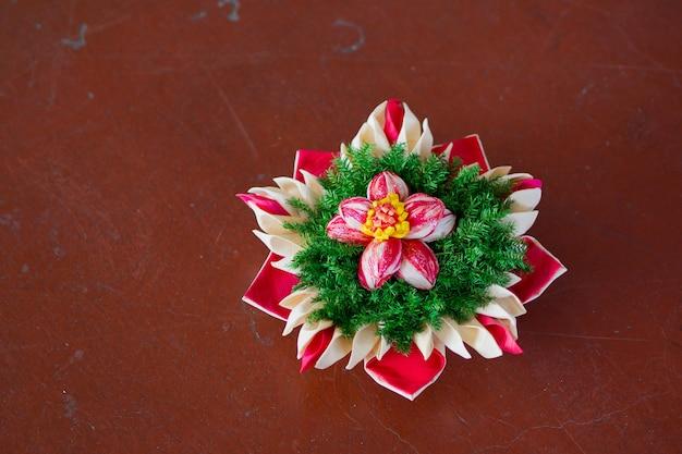 Loy kratong festival en thaïlande