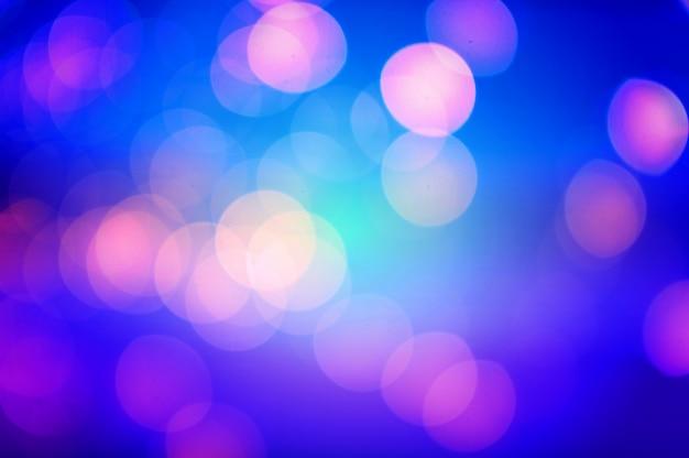 Lumière abstraite bokeh rose et bleue