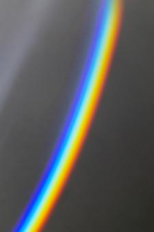 Lumière arc-en-ciel prisme abstrait