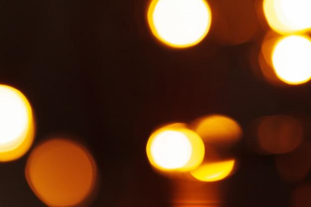 Lumière bokeh de guirlande de vacances bouchent