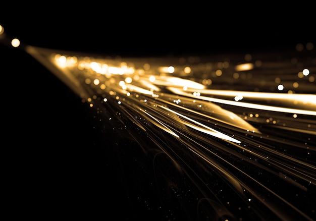 Lumière dorée série fond