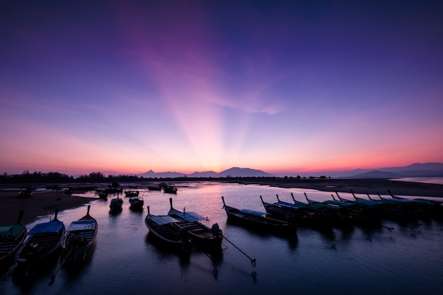 Lumière du matin sur la baie