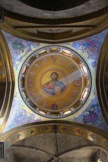 Lumière du monde dans le saint-sépulcre