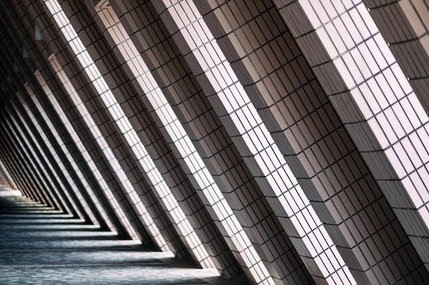 Lumière et ombre de la structure des bâtiments