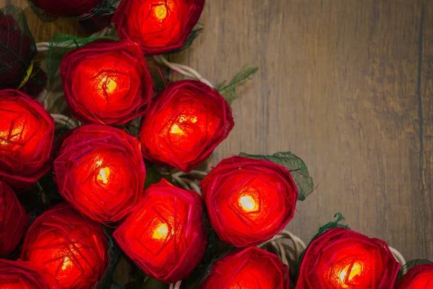 Les lumières d'affection sont profondément éclairées