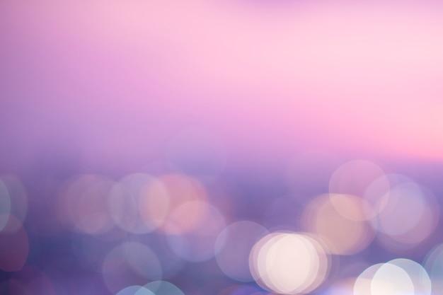 Lumières bokeh rose pastel