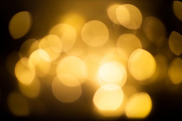 Lumières de bokeh