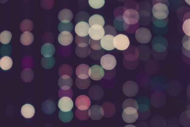 Lumières brouillées avec fond ton vintage rétro effet bokeh, abstrait vintage flou fond de texture bokeh.