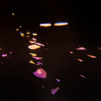 Lumières colorées abstraites