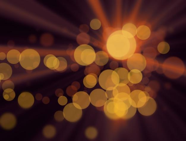 Lumières colorées floues à l'arrière-plan