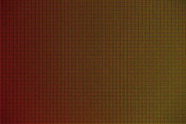 Lumières del de l'affichage à l'écran du moniteur de l'ordinateur à del