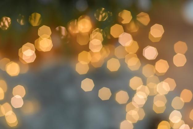 Lumières du fond de décoration de guirlande de noël