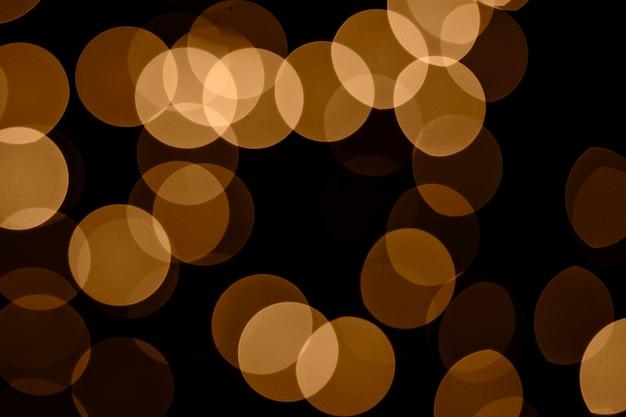 Lumières de fées abstraites close-up