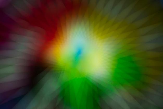 Lumières de flou scintillants sur fond abstrait néon